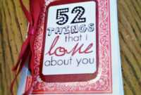 52 Things I Love About You – Mibba for 52 Things I Love About You Deck Of Cards Template