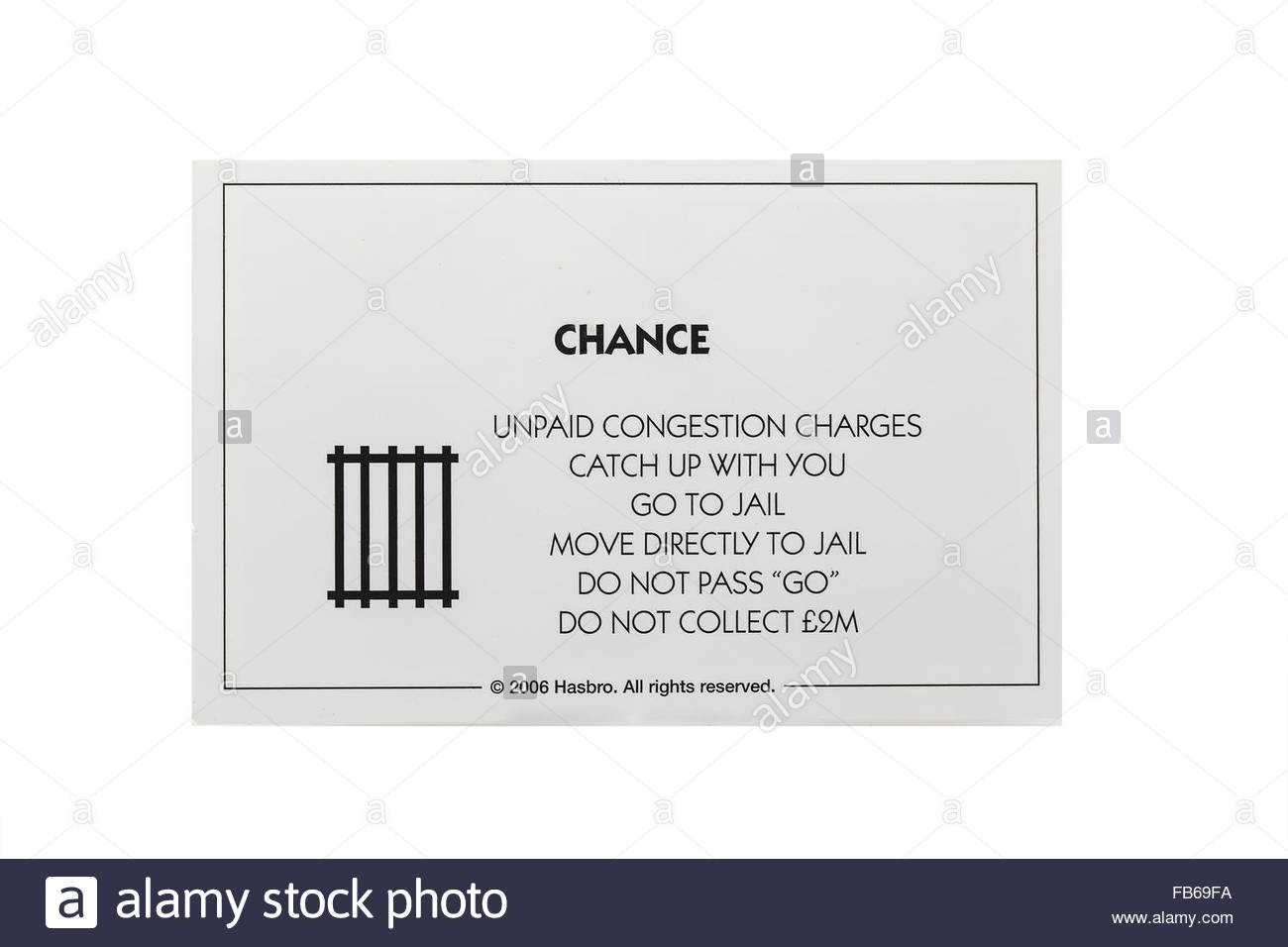 5Ba52 Monopoly Chance Card Template | Wiring Library Pertaining To Chance Card Template
