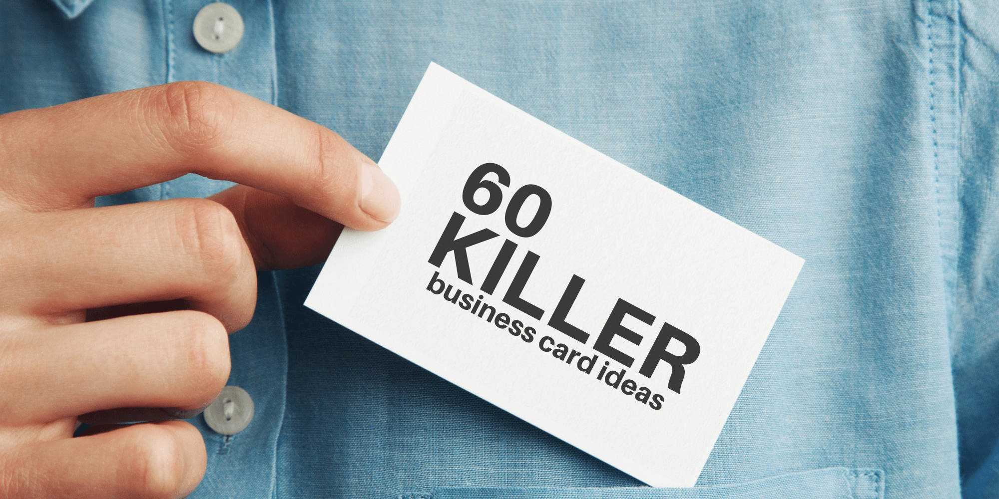 60 Modern Business Cards To Make A Killer First Impression Regarding Qr Code Business Card Template