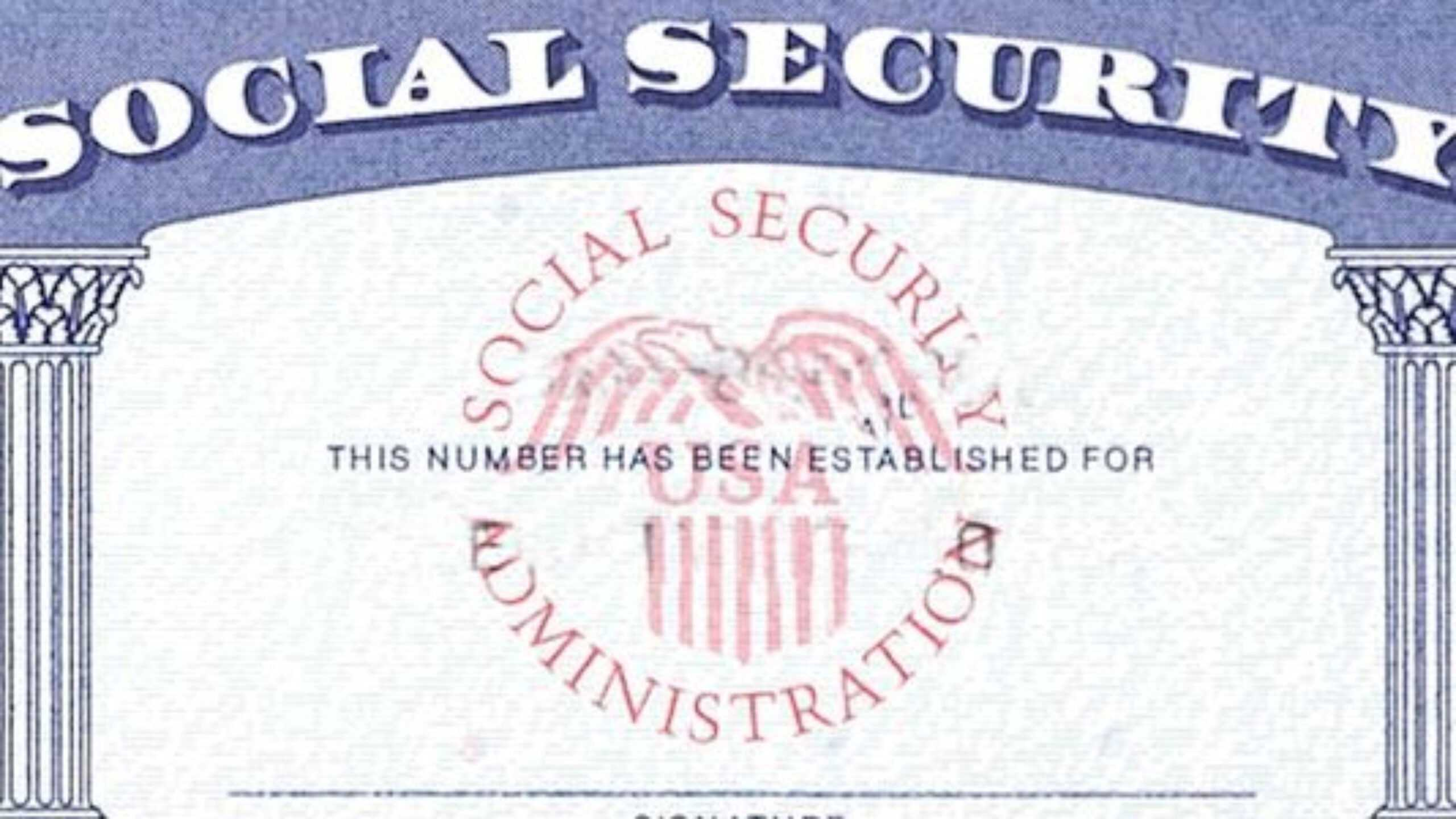 7 Social Security Card Template Psd Images - Social Security With Regard To Social Security Card Template Free