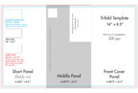 "8.5"" X 14"" Tri Fold Brochure Template – U.s. Press With Regard To 6 Sided Brochure Template"