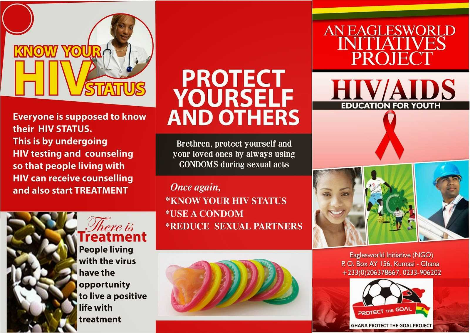 8 Best Photos Of Hiv Brochure Template - Hiv Aids Brochure In Hiv Aids Brochure Templates
