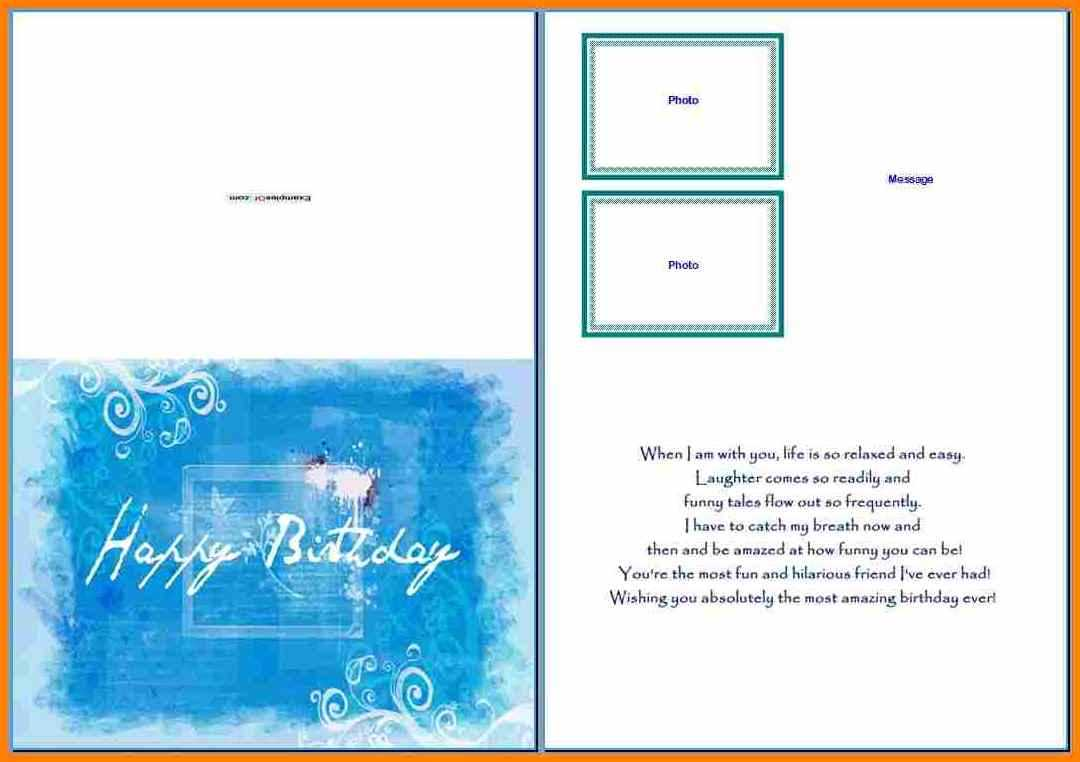 8+ Free Birthday Card Templates For Word | Psychic Belinda Inside Microsoft Word Birthday Card Template
