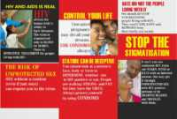 9 Best Photos Of Student Educational On Hiv Aids Brochure throughout Hiv Aids Brochure Templates