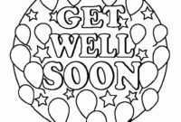 908 Get Well Soon Free Clipart – 8 with Get Well Soon Card Template