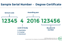 A User's Guide: China's New Non-Standardized Degree Certificate intended for Doctorate Certificate Template