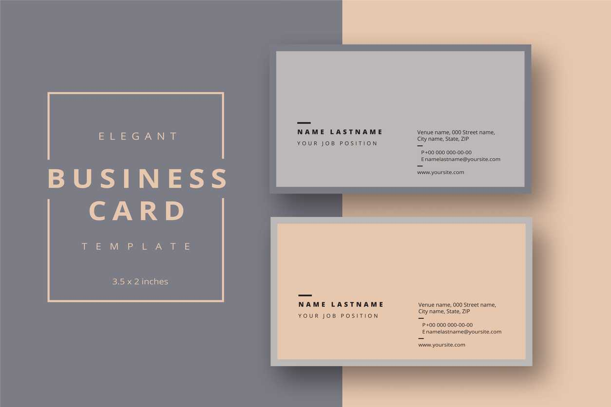 Add Your Logo To A Business Card Using Microsoft Word Or With Pages Business Card Template