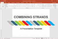 Animated Combining Strands Powerpoint Template within Replace Powerpoint Template