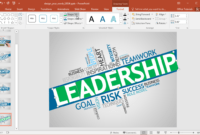 Animated Design Your Words Powerpoint Template for How To Edit Powerpoint Template