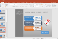 Animated Powerpoint Quiz Template For Conducting Quizzes in How To Create A Template In Powerpoint