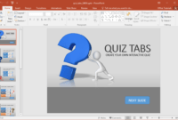 Animated Powerpoint Quiz Template For Conducting Quizzes with Powerpoint Quiz Template Free Download