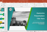 Animated Wrapping Shapes Powerpoint Template with Powerpoint Replace Template