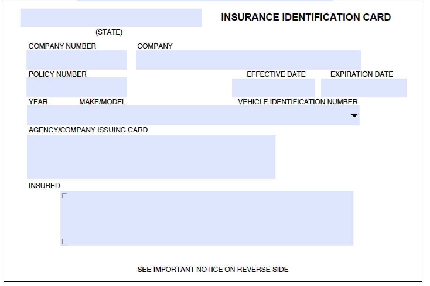 Auto Insurance Templates - Mahre.horizonconsulting.co Throughout Proof Of Insurance Card Template