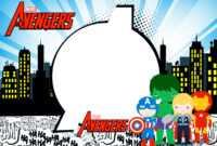 Avengers Chibi Style: Free Printable Invitations. – Oh My with regard to Avengers Birthday Card Template