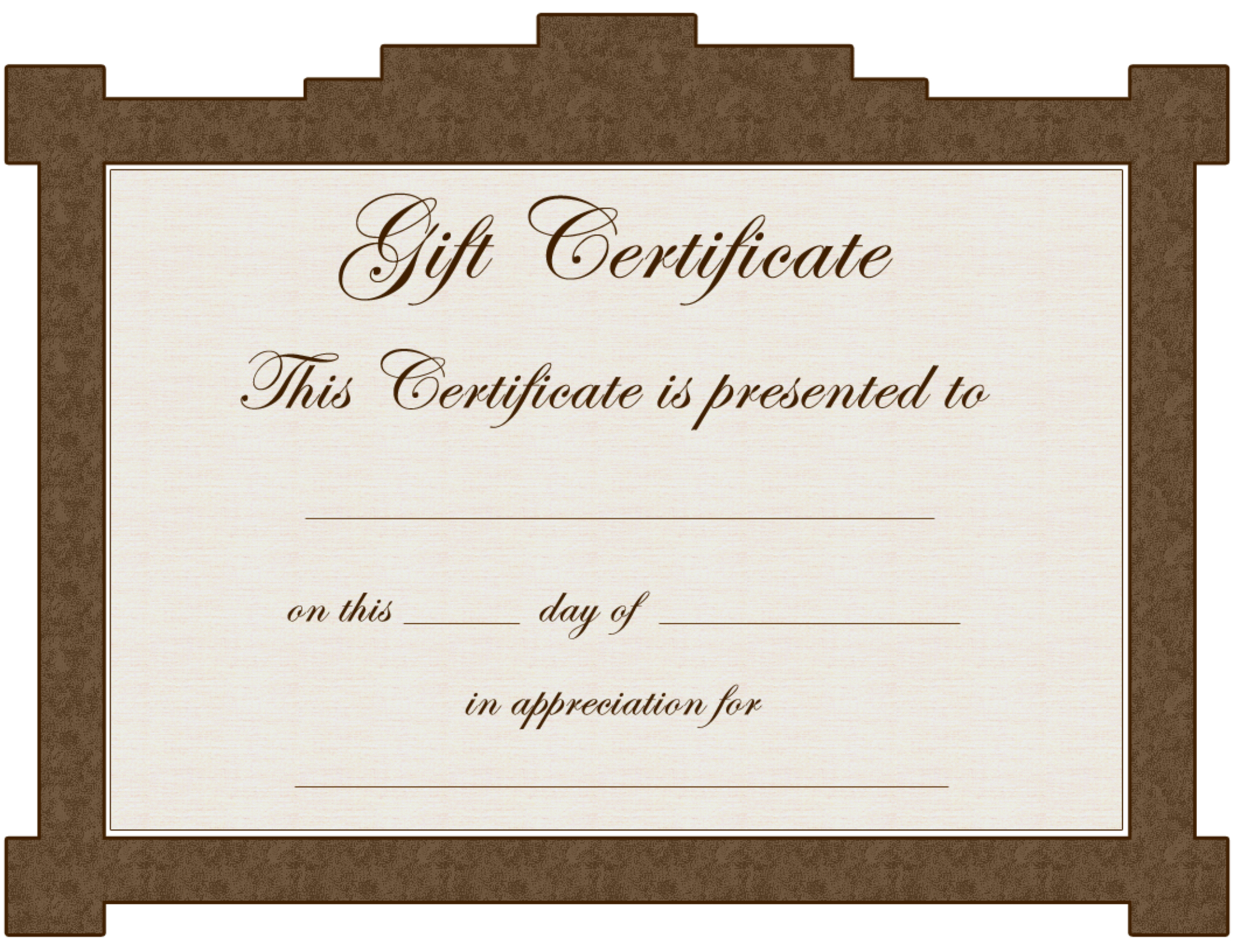 Avon Gift Certificate Template – Clip Art Library For Tattoo Gift Certificate Template