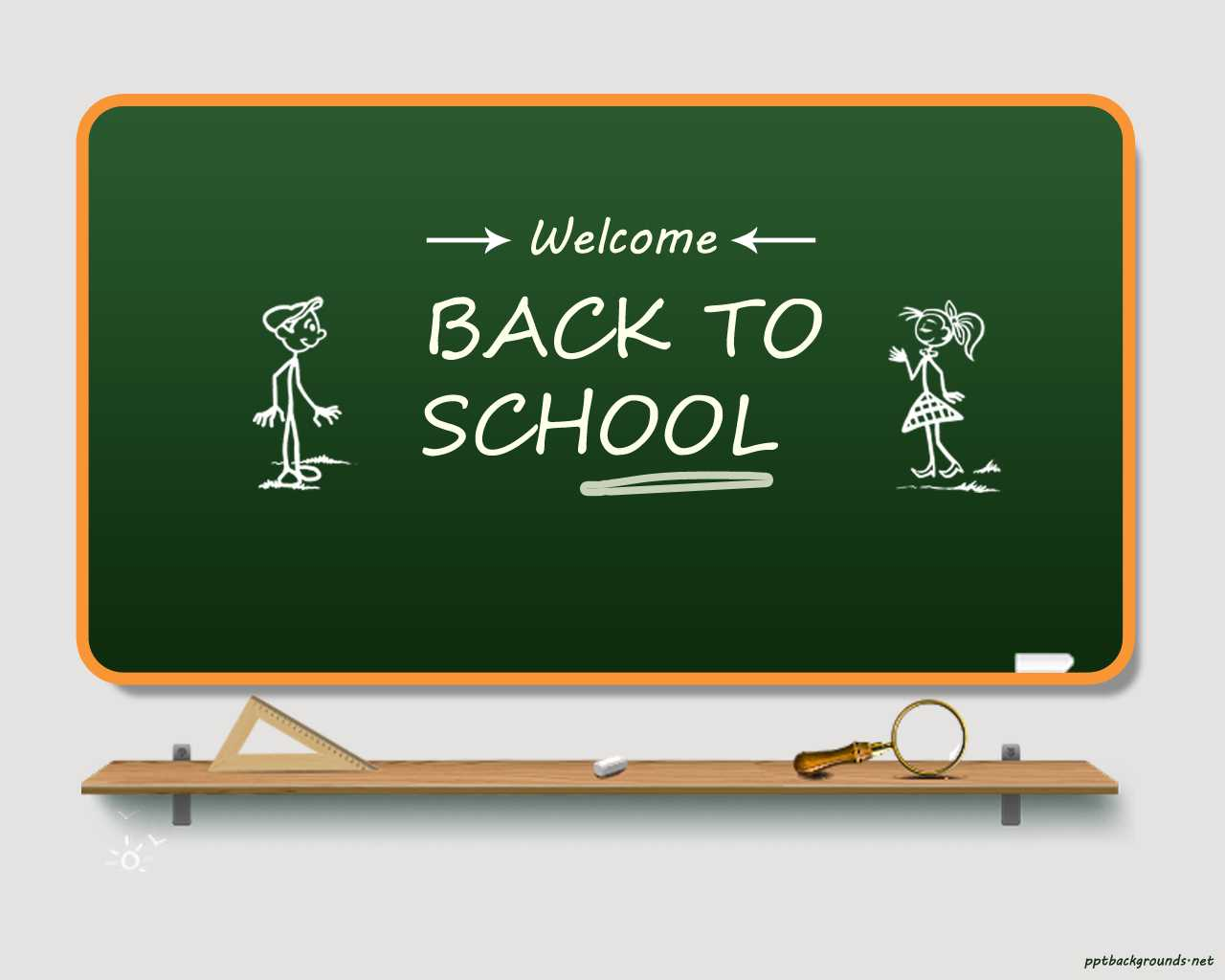 Back To School 2014 - 2015 Backgrounds For Powerpoint Pertaining To Back To School Powerpoint Template