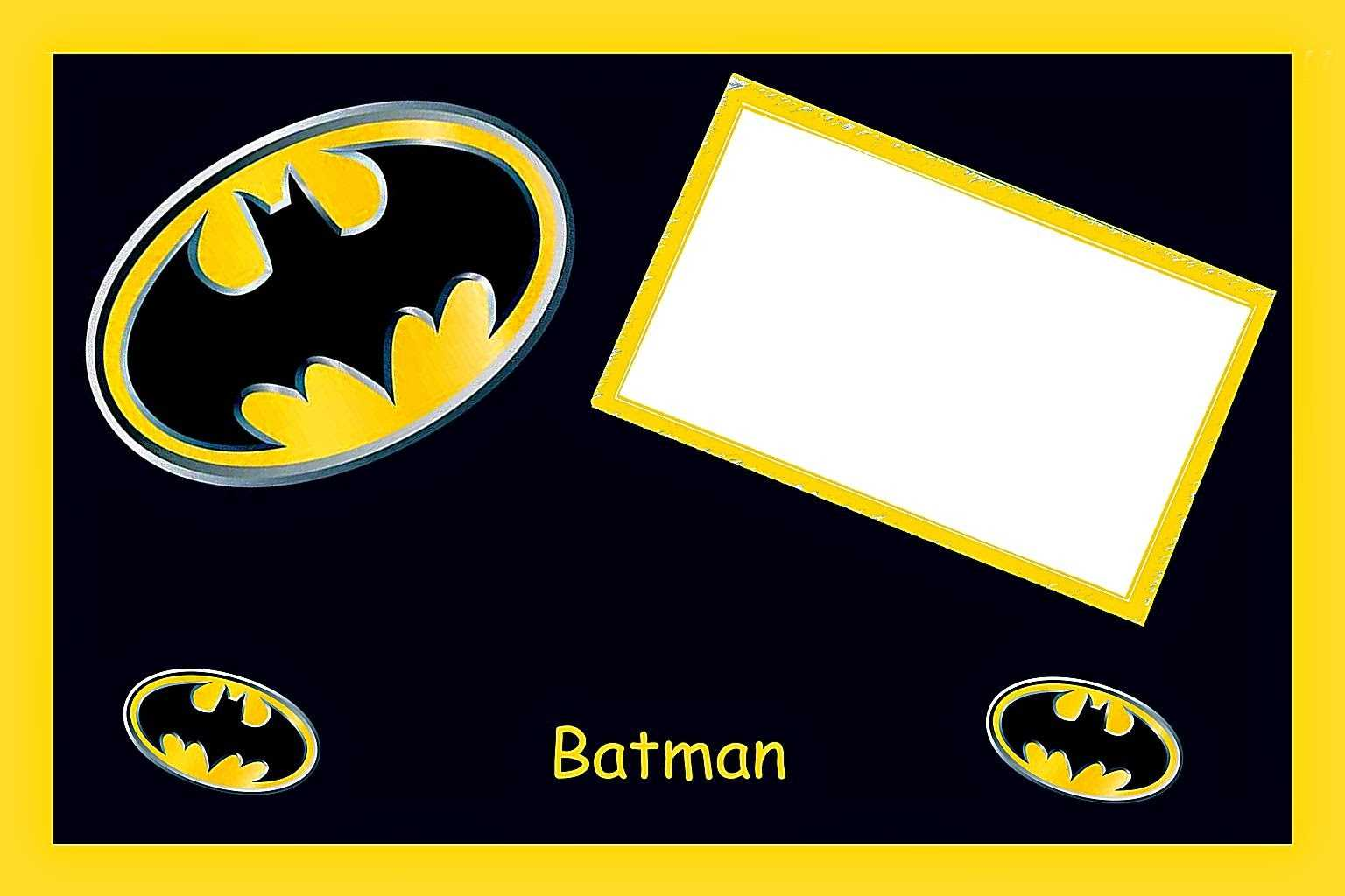 Batman Birthday: Free Printable Cards Or Invitations. - Oh Intended For Batman Birthday Card Template