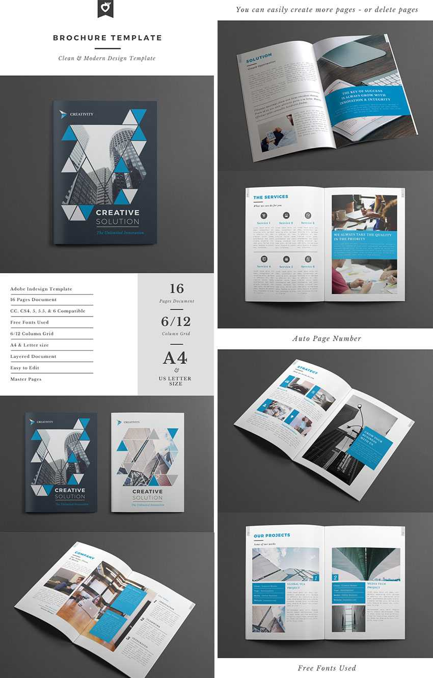 Best Design Brochure Templates For Creative Business Plan With Regard To Brochure Templates Free Download Indesign