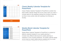 Best Free Powerpoint Calendar Templates On The Internet within Microsoft Powerpoint Calendar Template