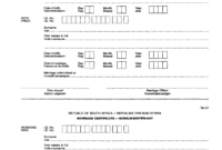 Bi 27 – Fill Online, Printable, Fillable, Blank | Pdffiller for South African Birth Certificate Template