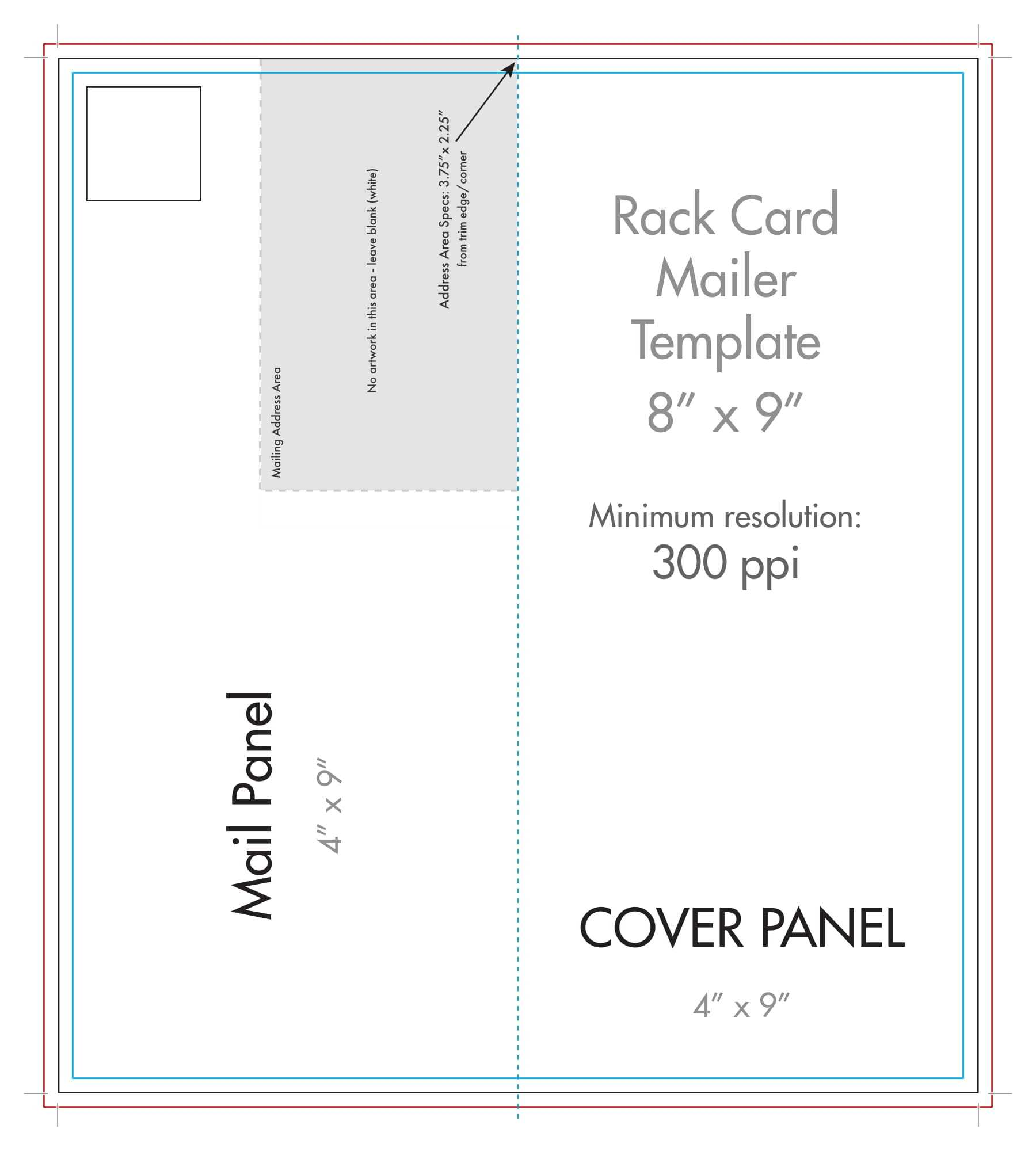 Blank Half Fold Card Template – Mahre.horizonconsulting.co For Fold Out Card Template