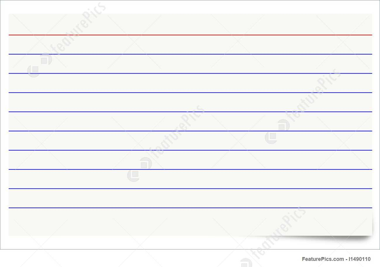 Blank Index Card - Zohre.horizonconsulting.co Intended For Blank Index Card Template