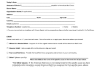 Blood Donation Form – 2 Free Templates In Pdf, Word, Excel with regard to Donation Card Template Free