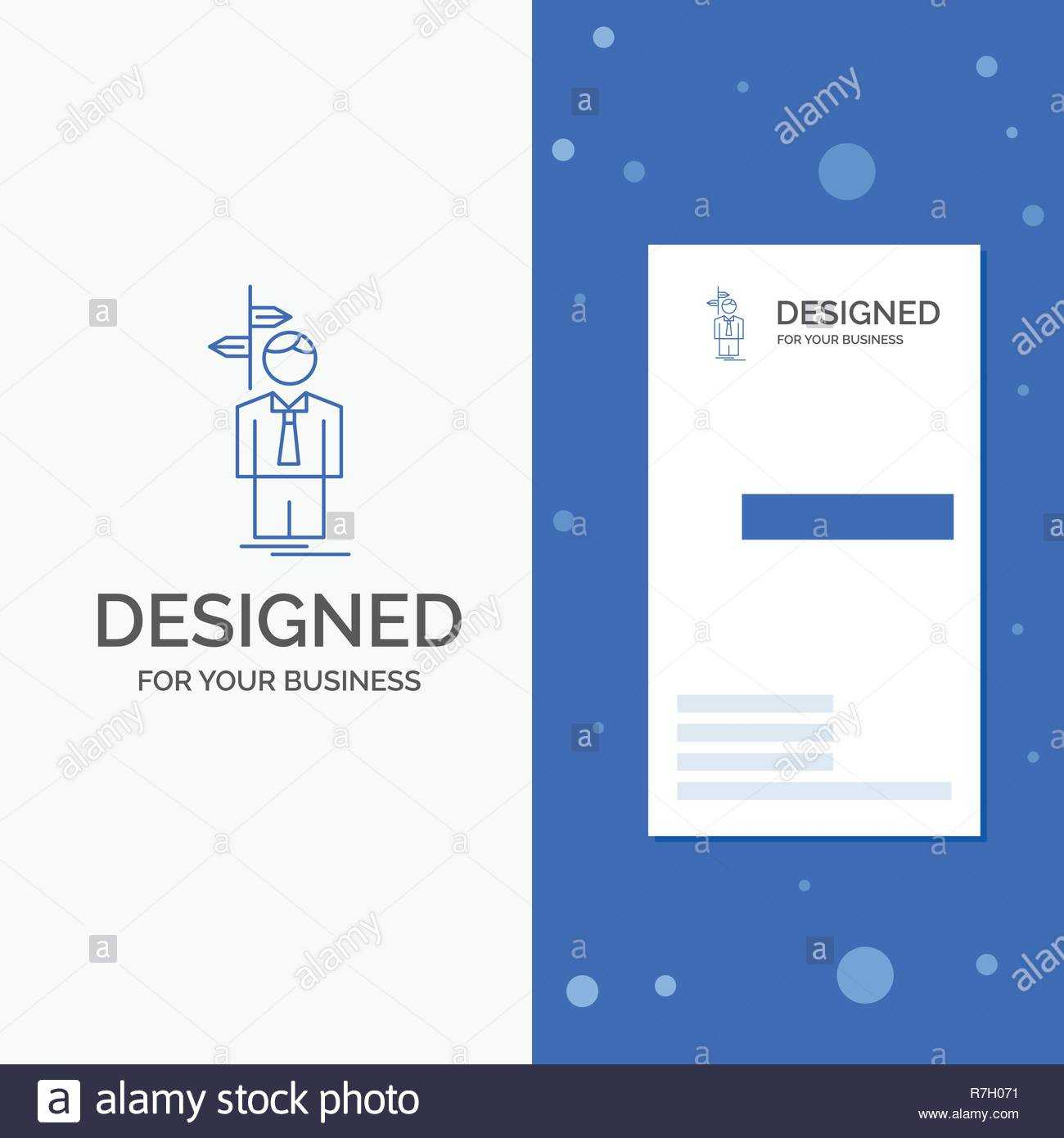Business Logo For Arrow, Choice, Choose, Decision, Direction For Decision Card Template
