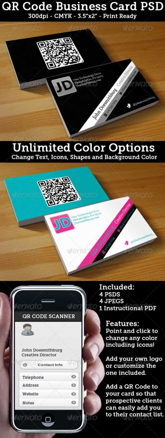 Cardview – Business Card & Visit Card Design Inspiration Within Qr Code Business Card Template