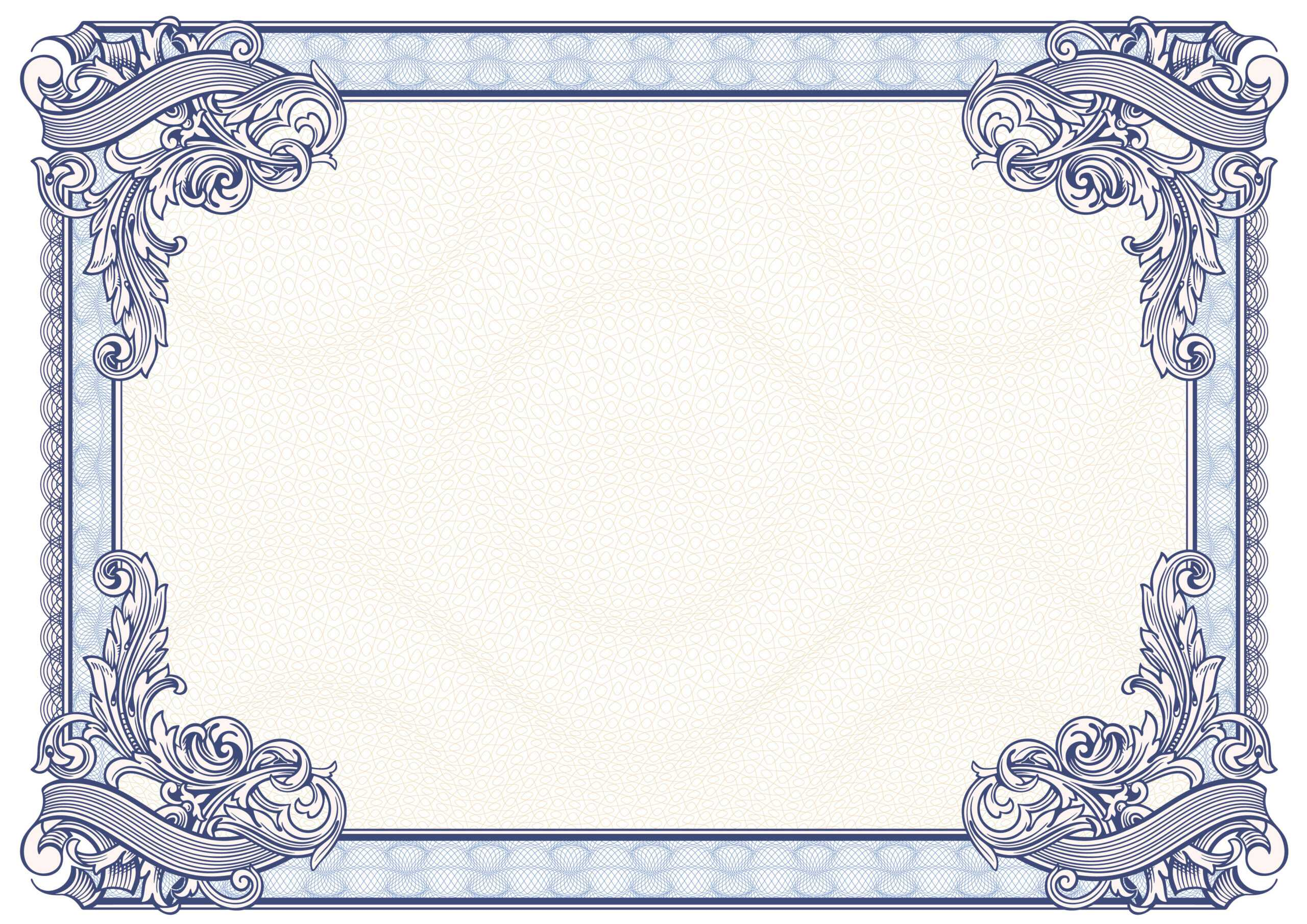 Certificate Border Vector Free At Getdrawings | Free For Pertaining To Award Certificate Border Template