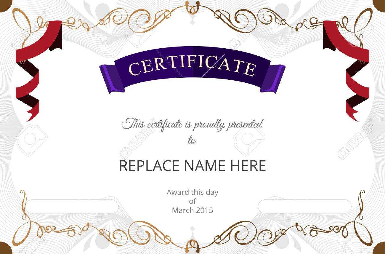Certificate Border - Zohre.horizonconsulting.co For Track And Field Certificate Templates Free