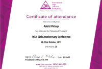 Certificate Examples – Simplecert for Conference Certificate Of Attendance Template