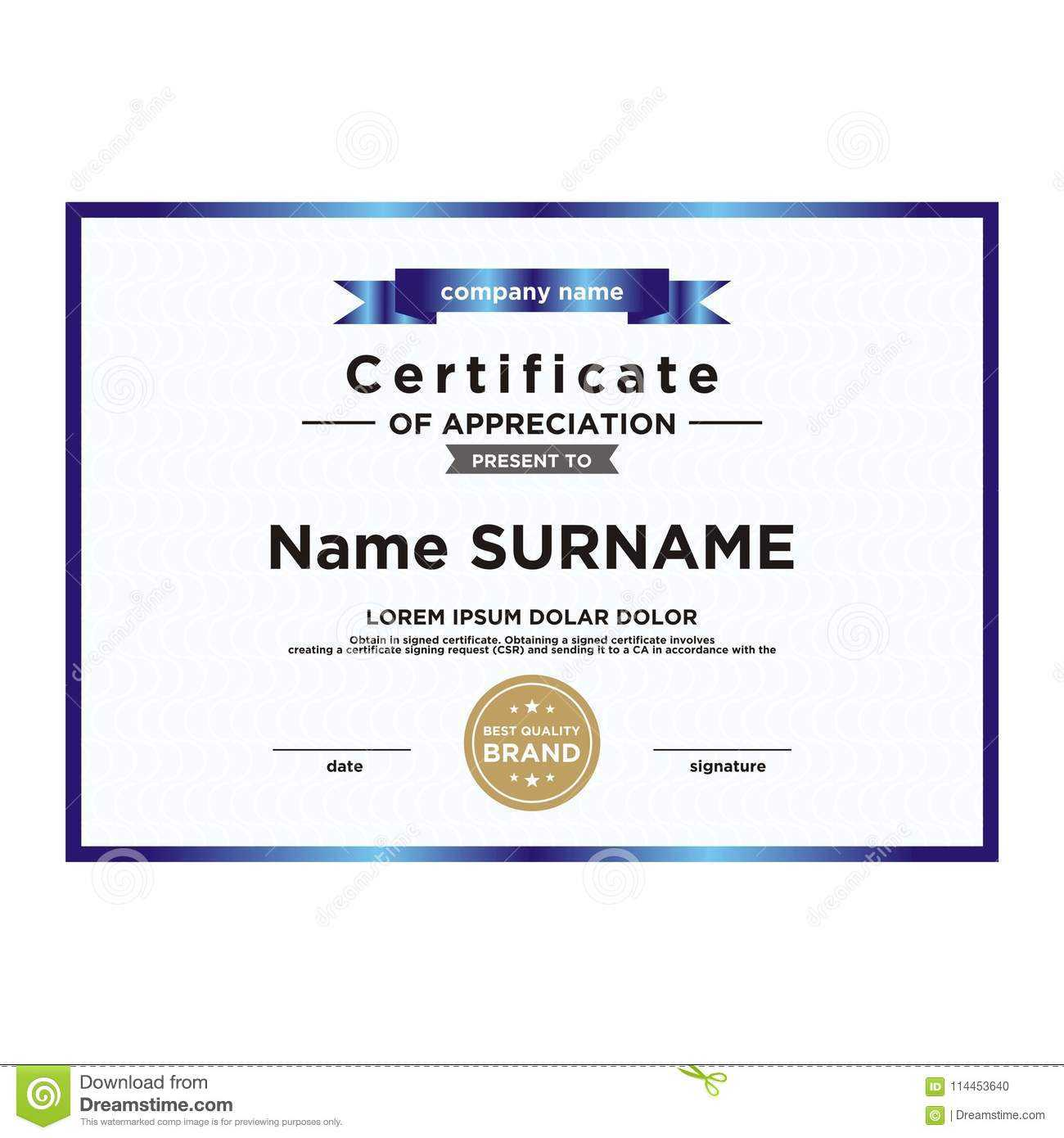 Certificate Of Achievement Template. They Are Fully And Within Blank Certificate Of Achievement Template