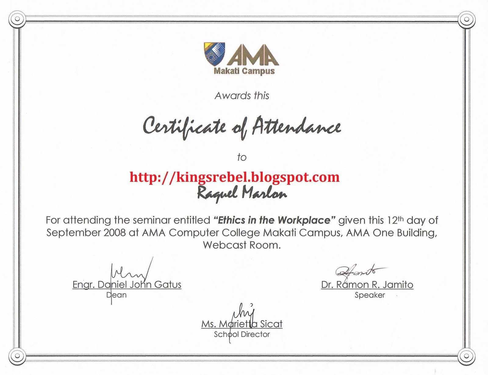 Certificate Of Appearance Template ] - Automated Printing Of For Certificate Of Appearance Template