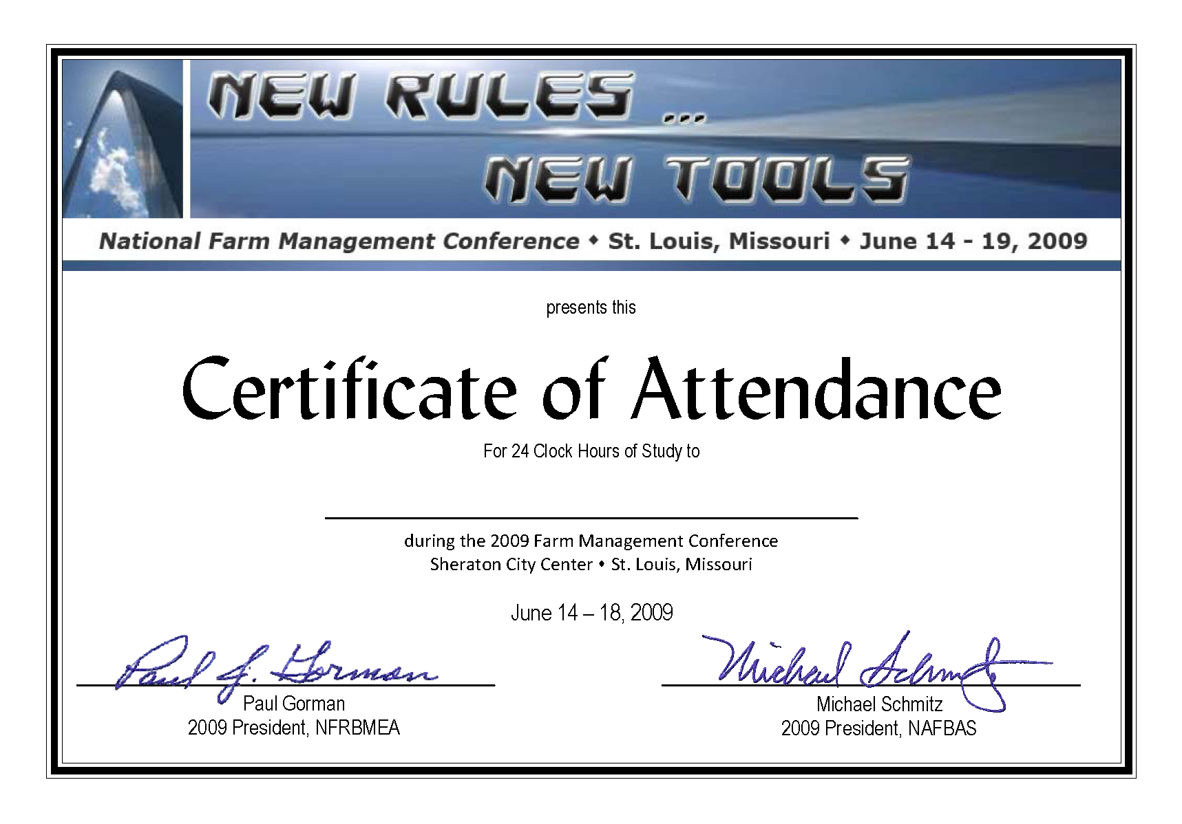 Certificate Of Attendance Conference Template ] - Of Regarding Conference Certificate Of Attendance Template