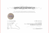 Certificate Of Authenticity Template For Photography in Photography Certificate Of Authenticity Template