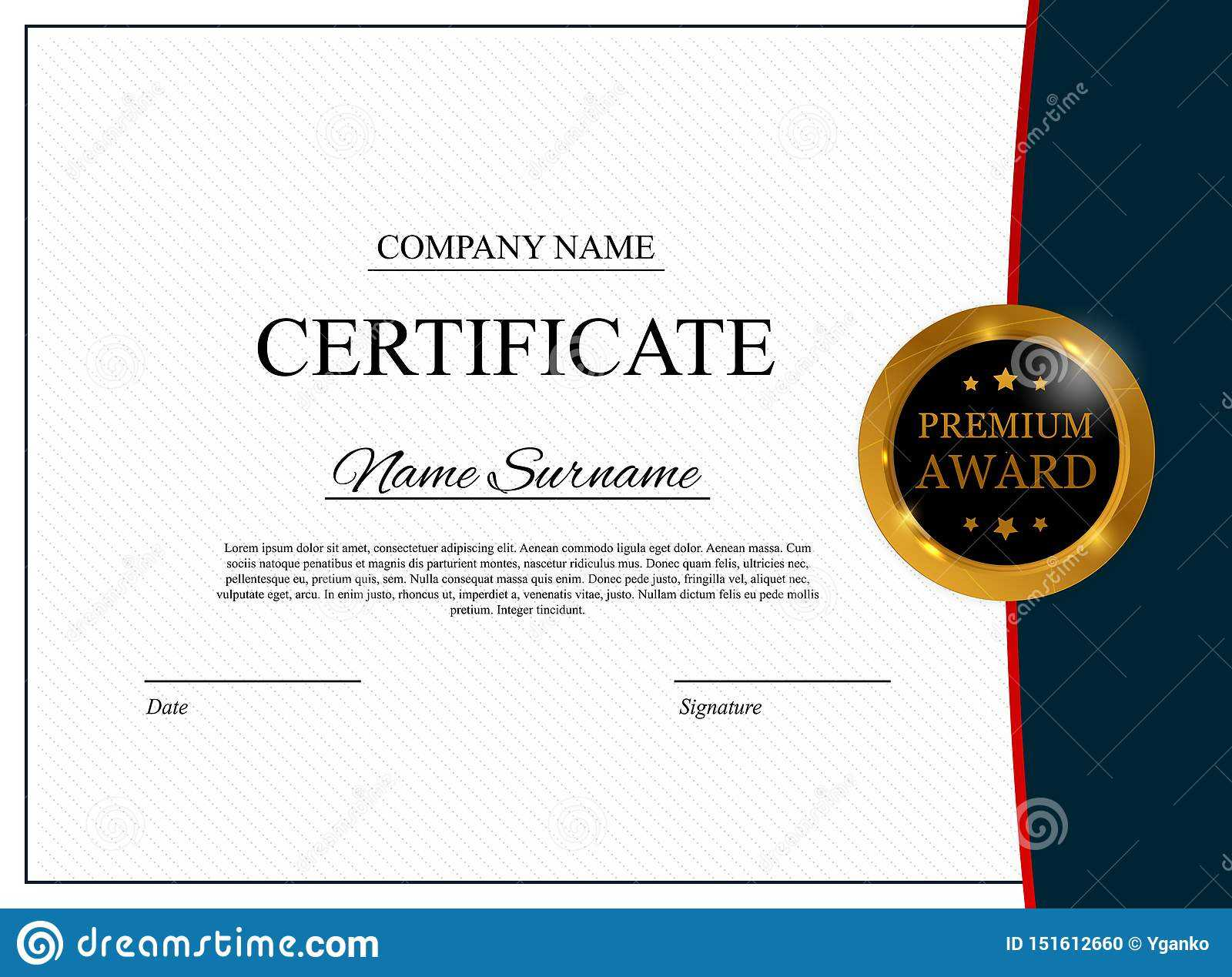 Certificate Template Background. Award Diploma Design Blank Throughout New Member Certificate Template