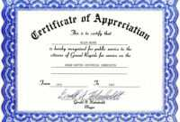 Certificates. Appealing Recognition Certificate Template with regard to Employee Recognition Certificates Templates Free