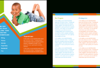 Child Care Brochure Template 26 for Daycare Brochure Template