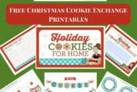 Chocolate Covered Raspberry Jellies Candy for Cookie Exchange Recipe Card Template