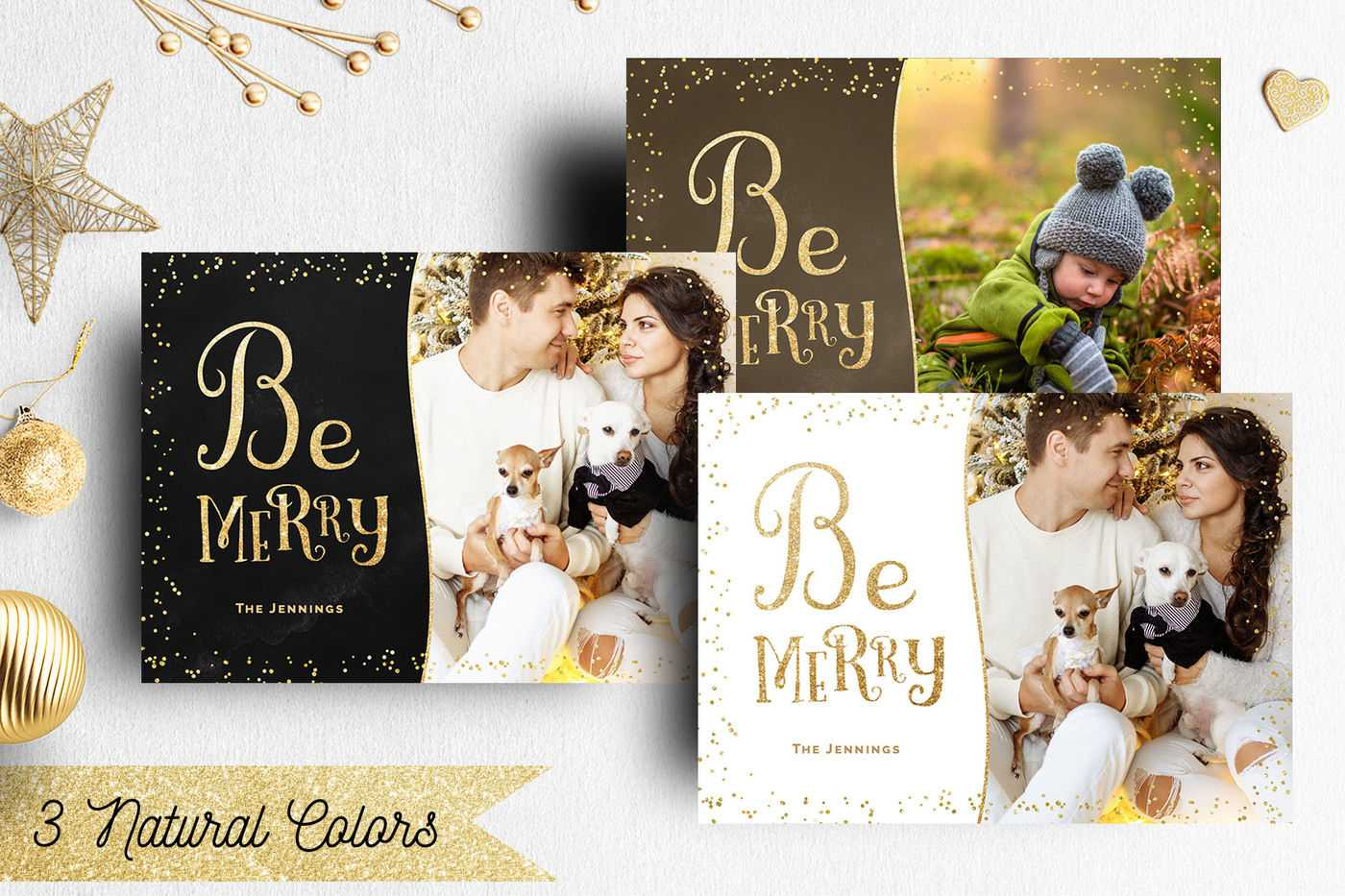 Christmas Card Template Photographernifty Fairy In Holiday Card Templates For Photographers