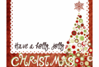 Christmas Card Templates Free – Merry Christmas Closing Sign intended for Christmas Photo Cards Templates Free Downloads