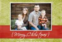 Christmas Card Templates Photoshop Free Download Penaime within Christmas Photo Card Templates Photoshop