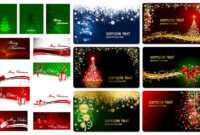Christmas Cards Vector | Vector Graphics Blog inside Christmas Photo Cards Templates Free Downloads