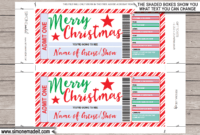 Christmas Concert Ticket Gift Voucher with regard to Movie Gift Certificate Template