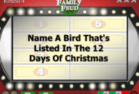 Christmas Family Feud Trivia Powerpoint Game – Mac And Pc within Family Feud Powerpoint Template Free Download