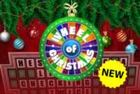Christmas Wheel Of Fortune Powerpoint Game – Youth pertaining to Wheel Of Fortune Powerpoint Template