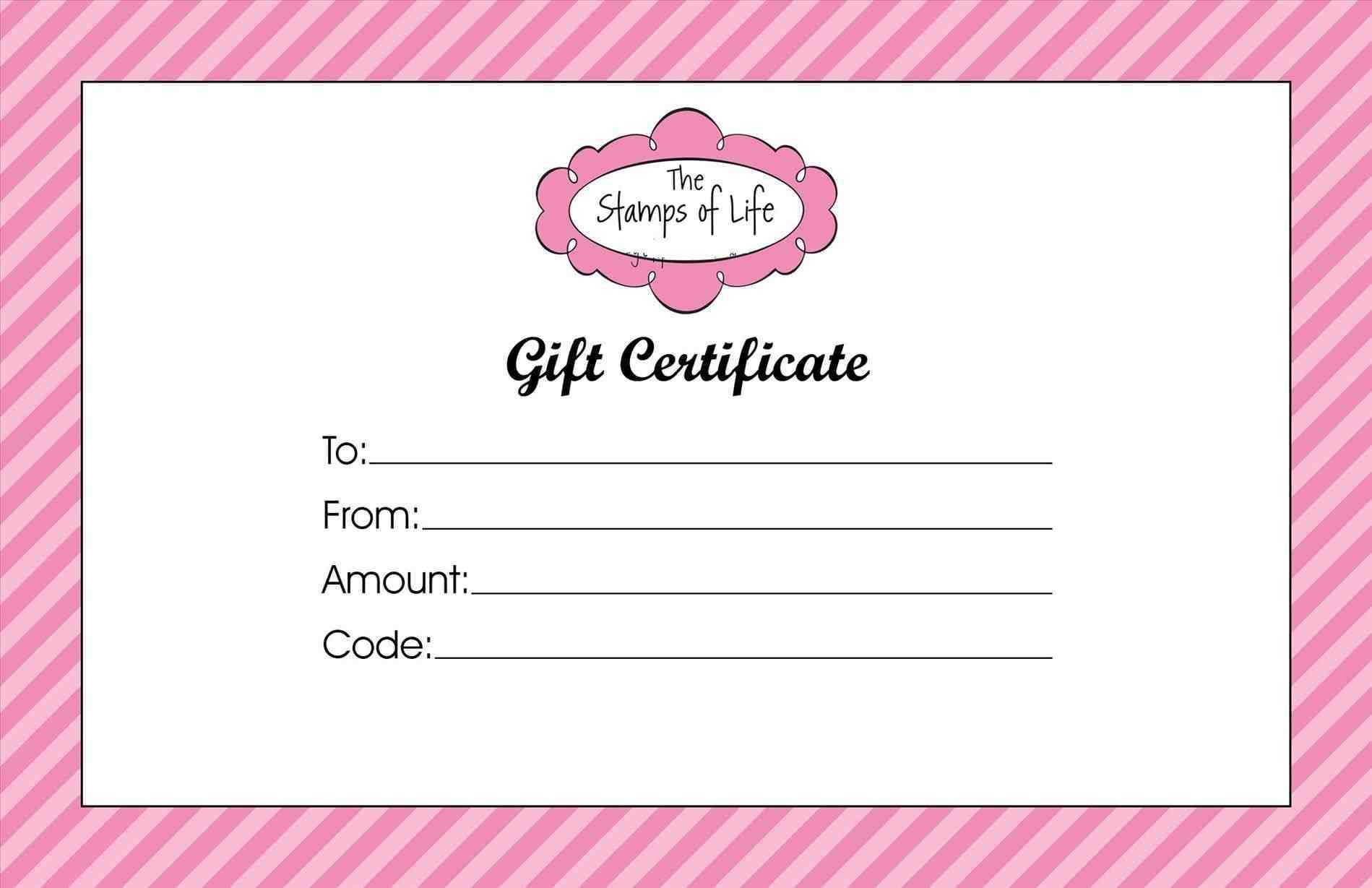 Clipart Gift Certificate Template For Tattoo Gift Certificate Template