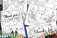 Coloring Book : Pack 1030X1030 Christmas Thank You Coloring throughout Christmas Thank You Card Templates Free