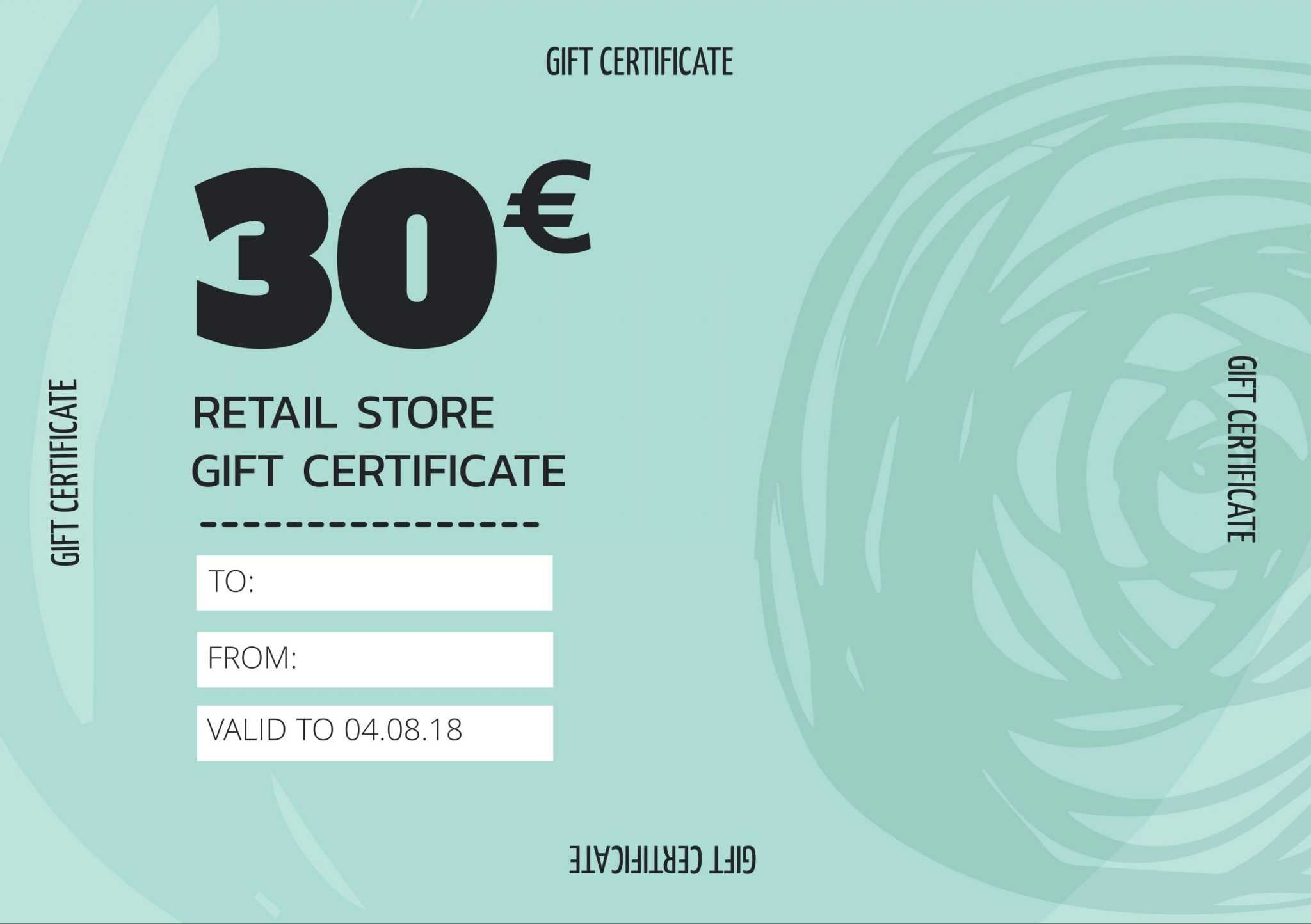 Create Personalized Gift Certificate Templates & Vouchers Pertaining To Company Gift Certificate Template